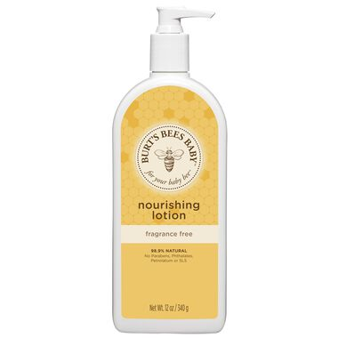 Burt's Bees Baby Nourishing Lotion-Fragrance Free - 12 oz.