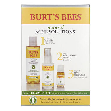 Natural Acne Solutions 3 Step Regimen Kit