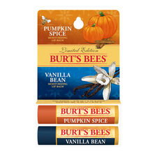 Pumpkin Spice/Vanilla Bean Lip Balm Twin Pack