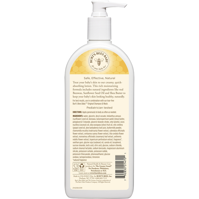Burt's Bees Baby Nourishing Lotion - Original 12 oz.