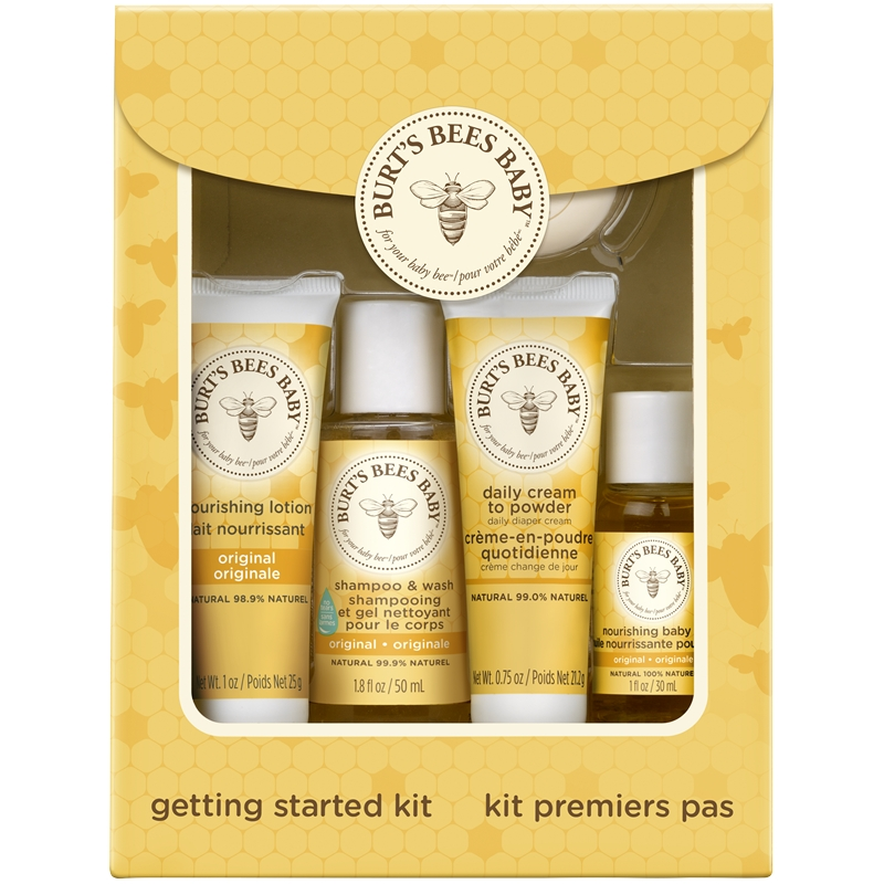 Burt S Bees Burt S Bees Baby Getting Started Kit
