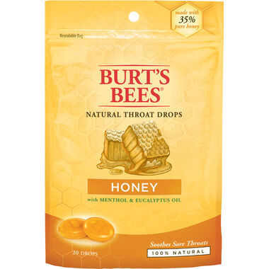 Natural Throat Drops: Honey