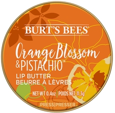 Orange Blossom & Pistachio Lip Butter
