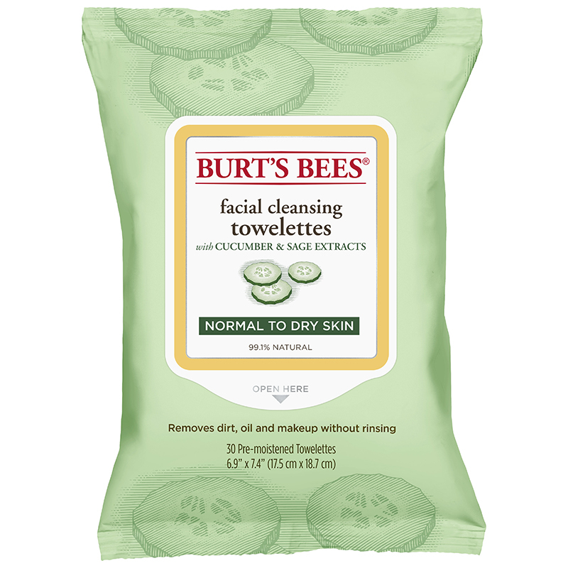 Facial Cleansing Towelettes - Peach & Willowbark Exfoliating by Burt's Bees #14