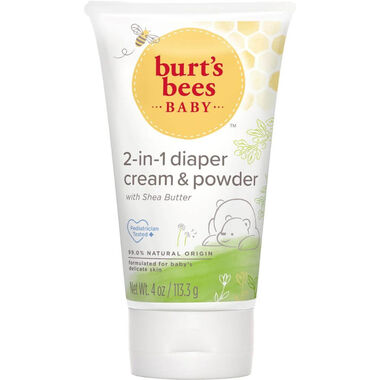 Burt's Bees Baby 2-in-1 Diaper Cream and Powder