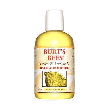 Lemon & Vitamin E Bath and Body Oil