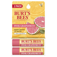 Pink Grapefruit Lip Balm Twin Pack