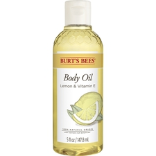 Body Oil with Lemon and Vitamin E