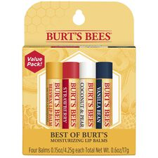 Best of Burt's 4-Pack Lip Balm