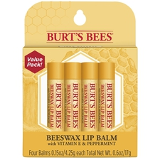 Beeswax Lip Balm 4-Pack