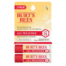All-Weather SPF 15 Moisturizing Lip Balm 2-pack