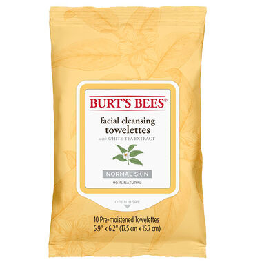Facial Cleansing Towelettes with White Tea Extract