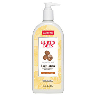 Shea Butter & Vitamin E Body Lotion - 12 oz.