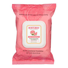 Facial Cleansing Towelettes -  Pink Grapefruit