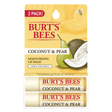 Coconut & Pear Lip Balm - Twin Pack