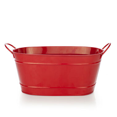 Large Red Gift Bin