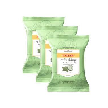 Refreshing Cucumber & Mint Towelette Trio Pack
