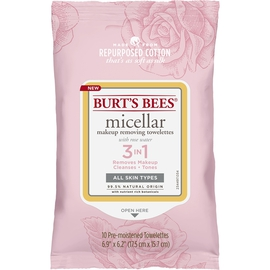 Micellar Makeup Removing Towelettes - Rose (10 count)