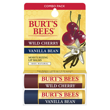 Wild Cherry/Vanilla Bean Lip Balm Twin Pack