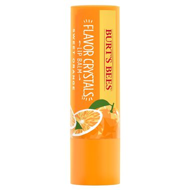 Sweet Orange Flavor Crystals Lip Balm