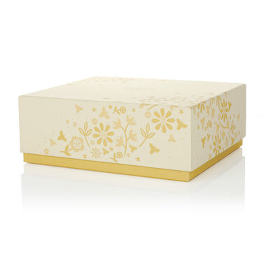 Flower Square Gift Box