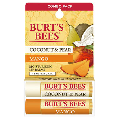 Coconut & Pear/Mango Lip Balm Twin Pack