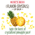 show Tropical Pineapple Flavor Crystals Lip Balm