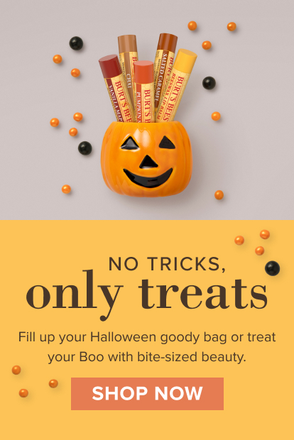 No tricks, only treats! Fill up your Halloween goody bag or treat your Boo with bite-sized beauty. Shop now