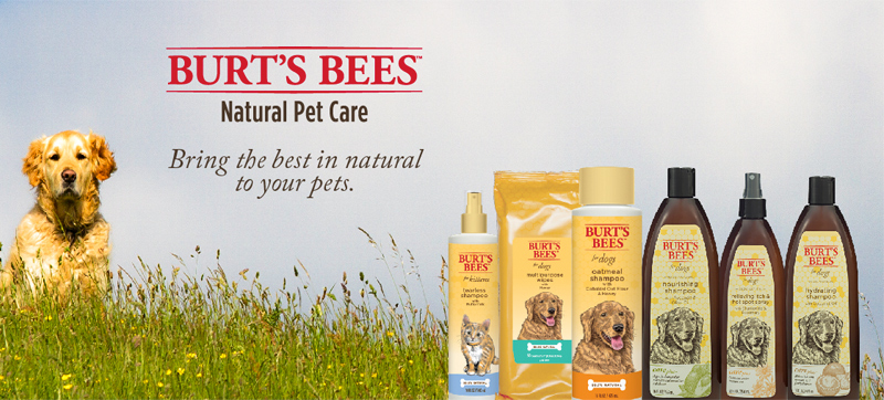 Burt S Bees Natural Pet Care