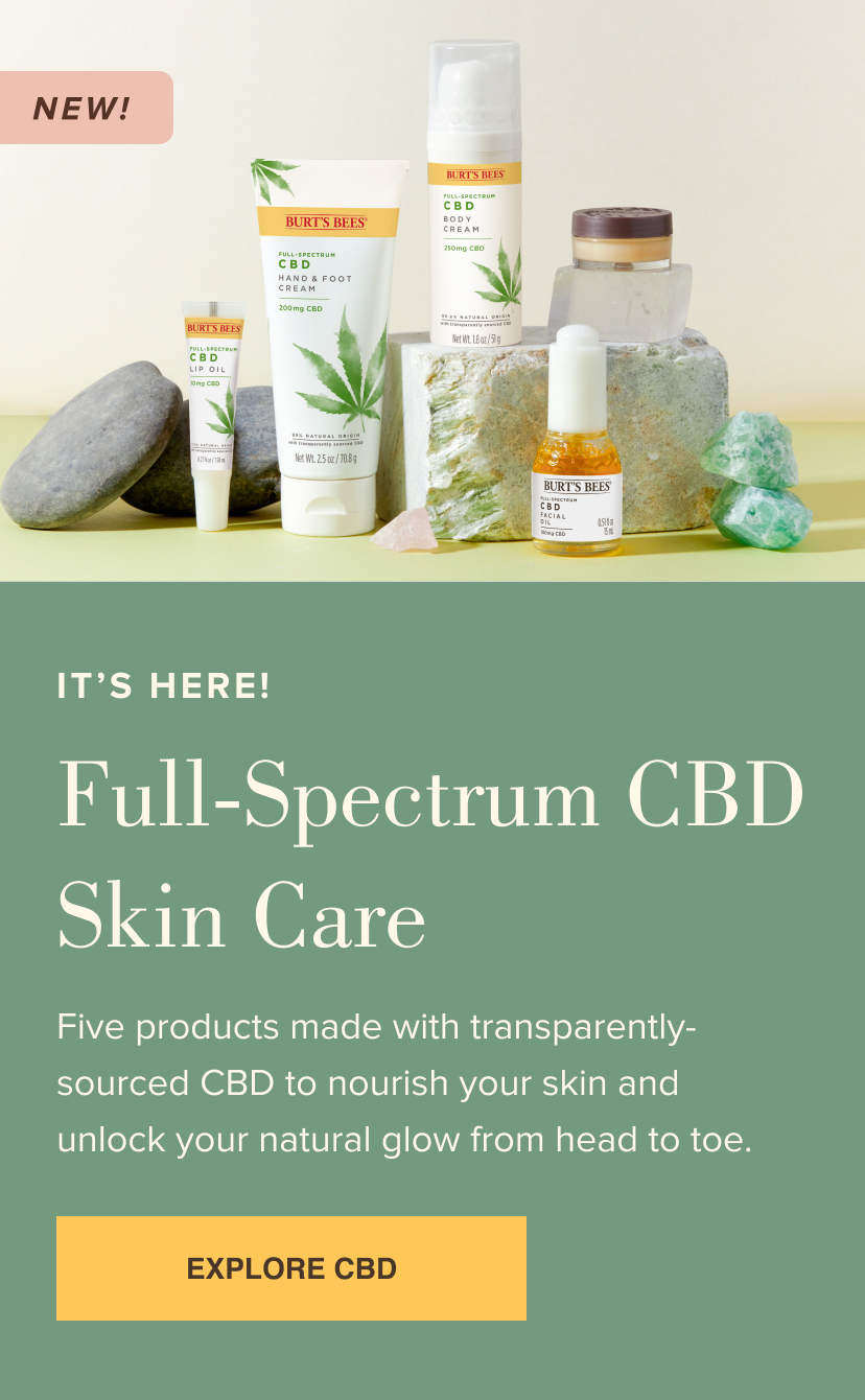 Full-Spectrum CBD Skin Care
