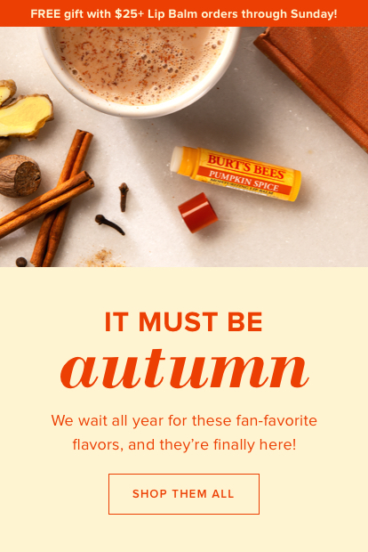 It must be Autumn. We wait all year for these fan-favorite flavors, and they're finally here!