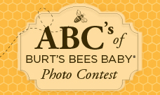 Burt's Bees Baby Photo Contest