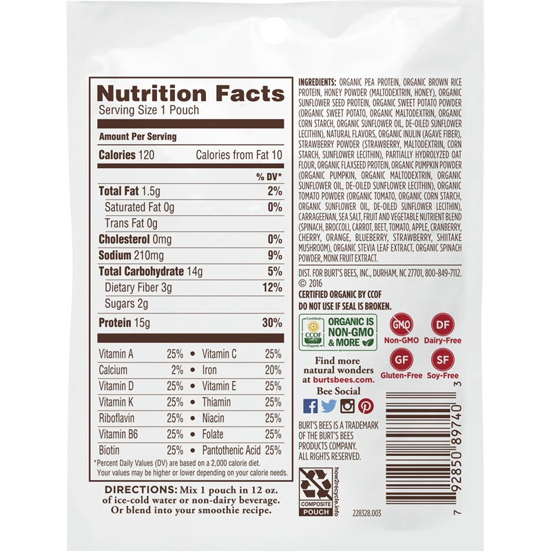Vanilla o Protein + Healthy Radiance (10 pack)