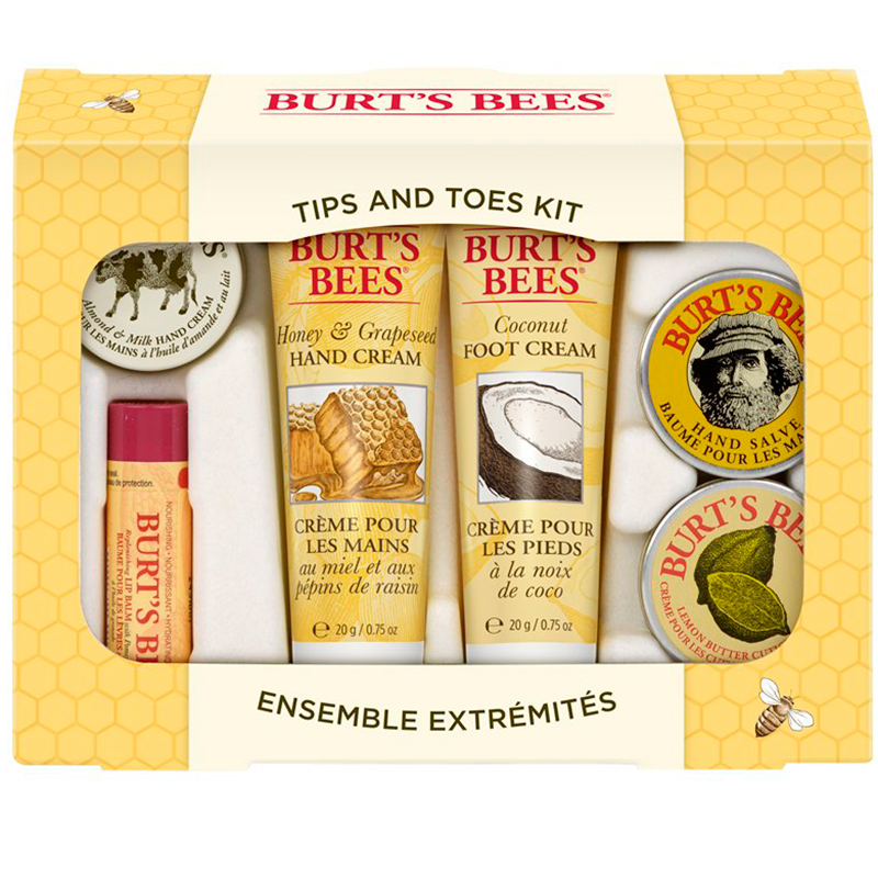 burts bees coconut foot cream ingredients