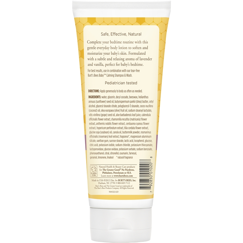 Burt's Bees Baby Nourishing Lotion - Calming 6 oz.