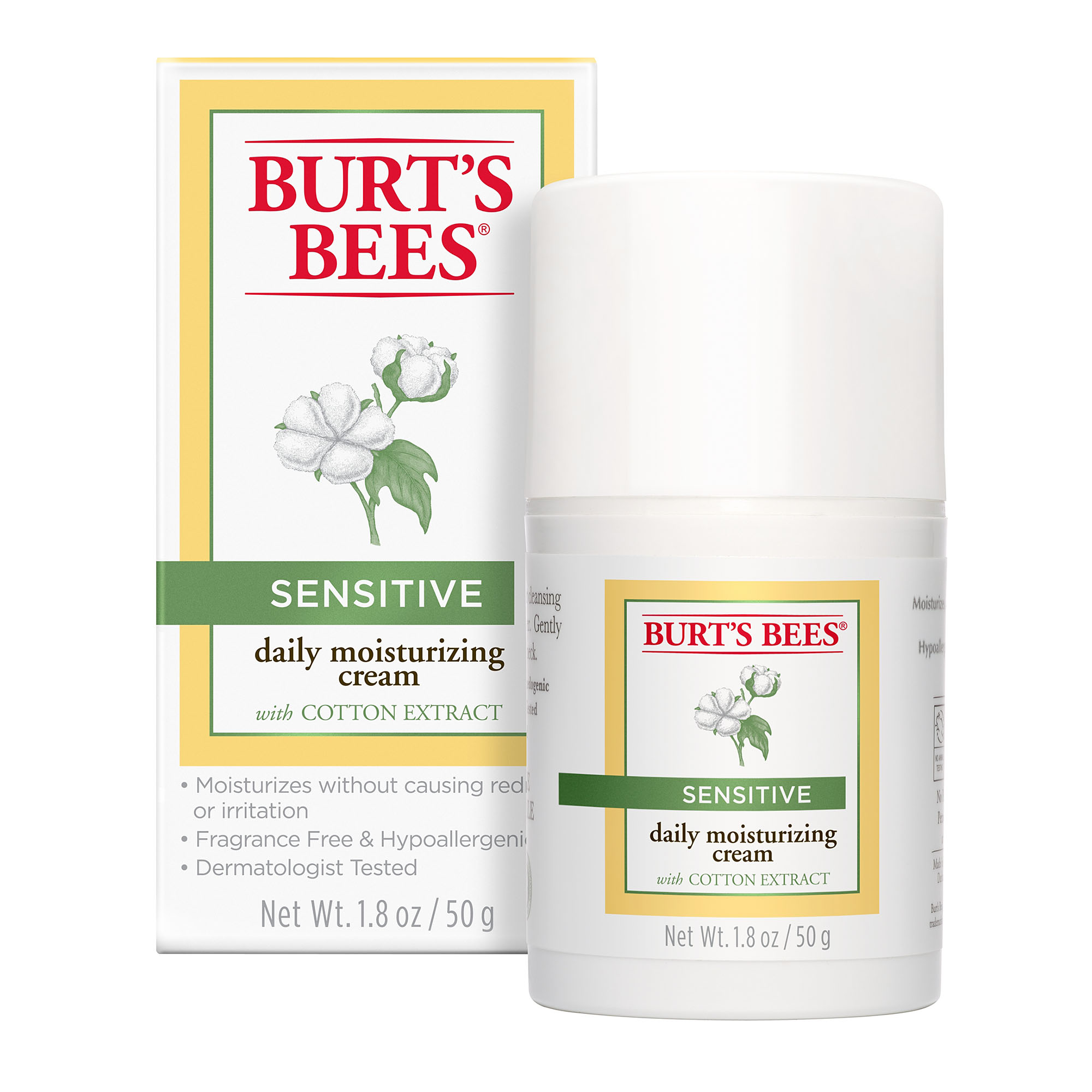 Image result for burt's bees moisturizing cream