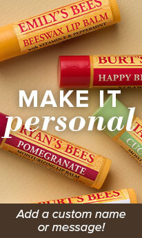 Make it Personal. Add a custom name or message!