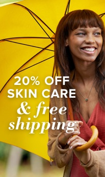 20% off Skin Nourishment and free shipping.